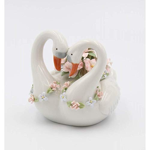 Cosmos Gifts 20958 Swan Love, Grey