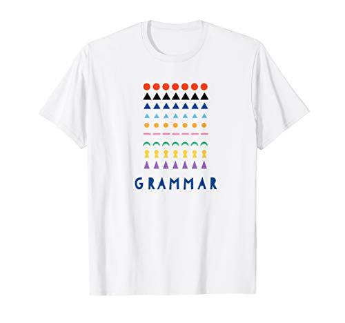 Montessori Grammar Material Shirt Gift Teacher Toddler Kid