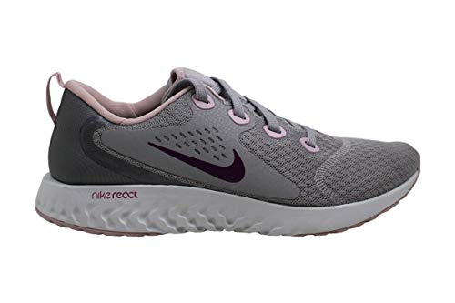Nike Women's Legend React Running Shoes, Atmosphere Grey/True Berry-Gunsmoke (US 8.5)
