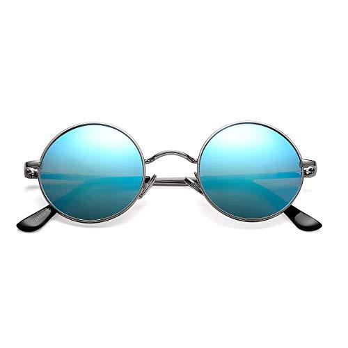 Pro Acme Retro - Gafas de sol polarizadas para hombre y mujer, estilo John Lennon