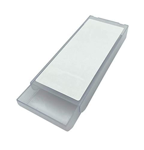 Minimal Design   Selbstklebende Schublade (Schreibtisch Schublade, Untertisch Schublade, Unterbau Schublade) zur Aufbewahrung von Büroutensilien, Make-up u.a.   Farbe: Transparent