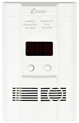 Kidde KN-COEG-3 Plug-in Combination Explosive Gas/Carbon Monoxide Alarm Detector with Battery Back-Up