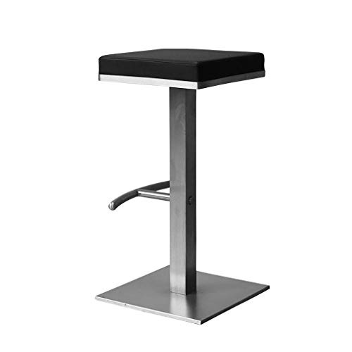 WKLIANGYUANPING Bar Stools Bar Chairs Bar Stools,Seat Breakfast Bar Counter Kitchen Chairs Metal Legs Barstools High Stools With Backrests & Footrests For Home & Commercial Use