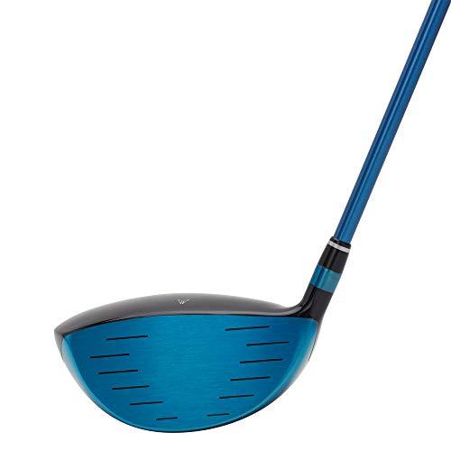 MAZEL Titanium Golf Drivers for Men,Right Handed,460CC (Right, Graphite(Stars Blue Head), Stiff (S), 10.5)