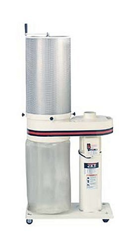 JET 708642CK DC-650CK 1-Horsepower 650 CFM Canister Dust Collector, 115/230-Volt 1-Phase