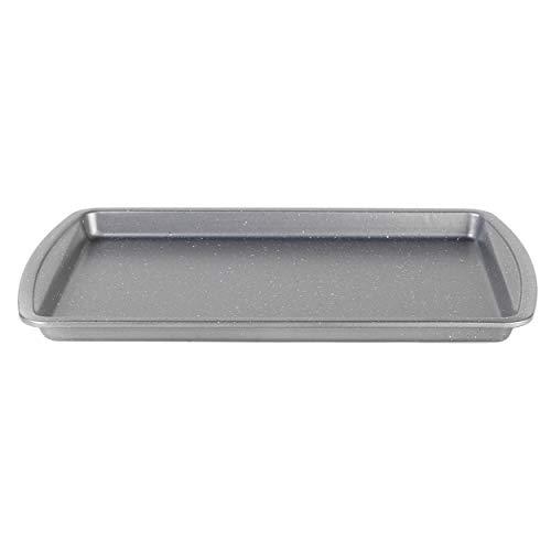 Progress® BW08282EU Backblech mit Metallic-Marble-Antihaftbeschichtung | 38 cm | Karbonstahl | Spülmaschinenfest