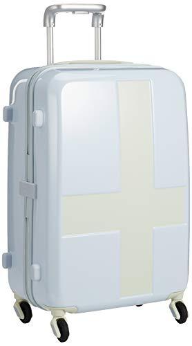 [イノベーター] スーツケース グッドサイズ ベーシックモデル INV55T 保証付 50L 55 cm 3kg ブルー/アイボリー