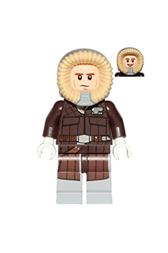 LEGO Star Wars : Minifigur Han Solo mit Parka aus dem Set 75138