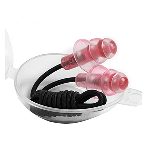 Srfghjs Gafas de natación para niños Galvanoplastia Anti-UV Anti-Niebla Traje de baño Vasos Nadar Buceo Regulable natación Gafas Damas Hombres Nadando (Color : Red Ear Plug)