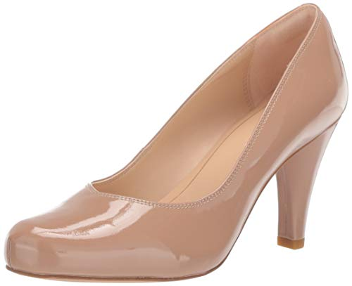 Clarks Damen Dalia Rose Pumps, Hautfarben-Nude Patent, 42 EU