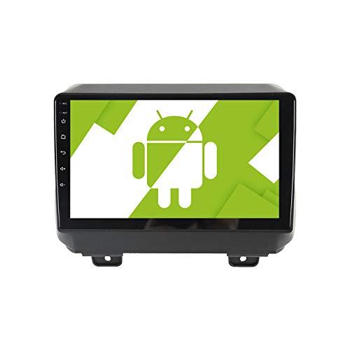 AOTSR 9 Pulgadas Android 10.0 Radio de Coche para Jeep Wrangler 4 JL 2018 2019, Reproductor Multimedia Autoradio, Pantalla Táctil HD, Navegación GPS, WiFi, Bluetooth, DSP, Carplay