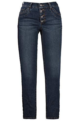 GINA LAURA Damen Jeans Julia Blue Denim 44 718524 92-44