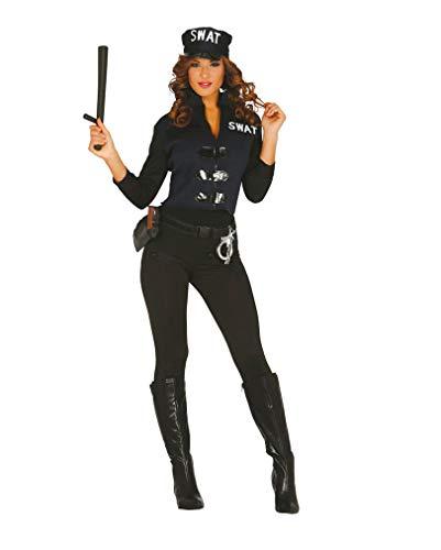 Horror-Shop SWAT Spezial Agentin Damenkostüm M/L
