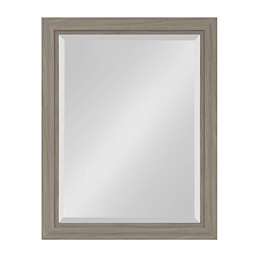 Kate and Laurel Dalat Framed Beveled Wall Mirror, 22x28, -
