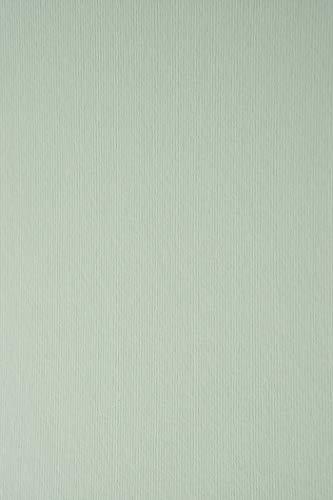 10 Blatt Minzgrün Karton 215g beidseitig filzmarkiert mit Linienstruktur DIN A4 210x297 mm Nettuno Acquamarina, ideal für Hochzeit, Geburtstag, Ostern, Weihnachten, Einladungen, Visitenkarten, Diplome