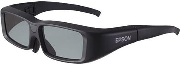 Epson V12H483001 Gafas 3D, Lithium, Color Negro
