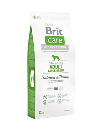 Brit Care Large Adult con Salmone e Patate 12 Kg - Grain Free per cani adulti di taglia grande (  25 kg)