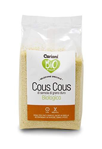 Carioni Food & Health Cuscus de sémola de Trigo Duro - 400 gr (Paquete de 8 Piezas)