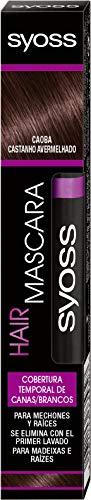 Syoss - syoss temporary coverage hair mascara caoba 16ml