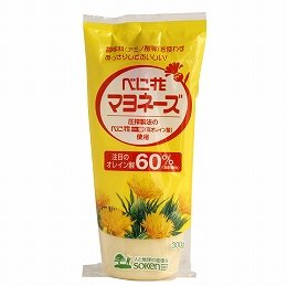創健社 べに花オレインマヨネーズ 300g×3個            JAN:4901735105502