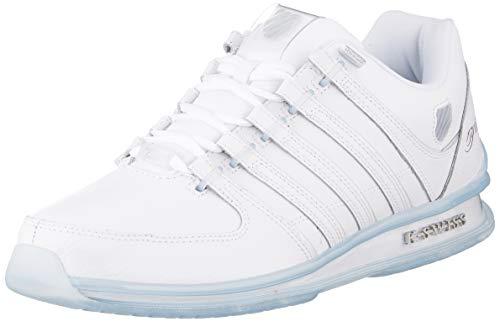 K-Swiss Mens Rinzler 15 Yrs-White/Crystal Clear Sneaker