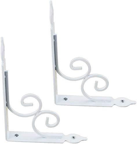 DX Tablet beugel Wandbeugel voor muurbeugel met decoratieve 90-graden plankbeugel