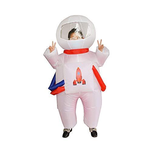 FGASAD Traje inflable para astronauta con 4 pilas AA