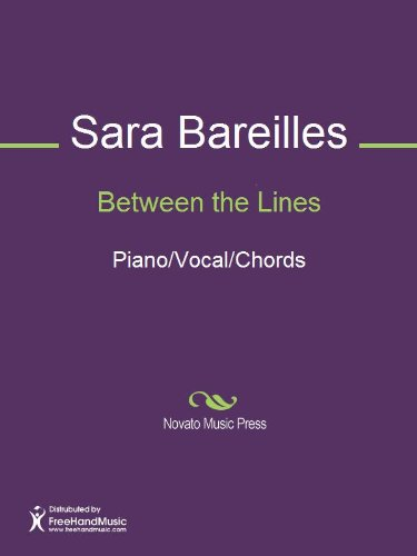 Between the Lines Sheet Music (Piano/Vocal/Chords) (English Edition)