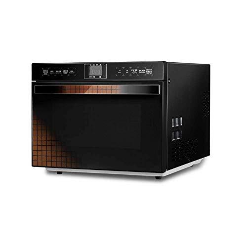 Atten Horno de microondas compacto con la conversión de frecuencia inteligente, sensor de cocción, horno de calentamiento rápido, de...