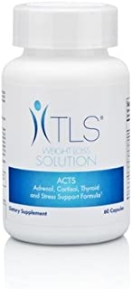 TLS ACTS Adrenal, Cartisol, Thyroid & Stress Support Formula 60 tablets by MAHealthNuts