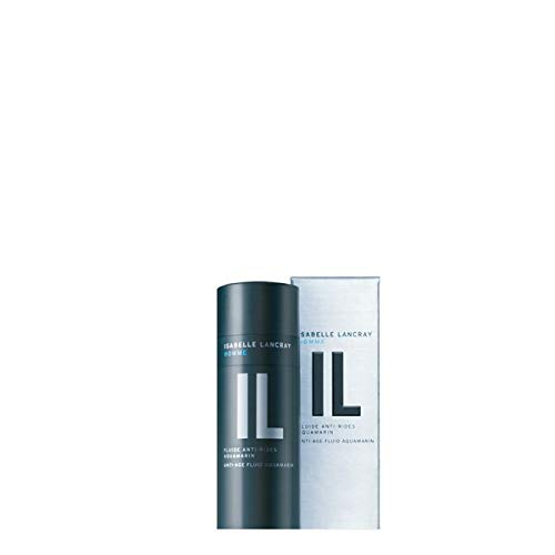 """Isabelle Lancray Men Anti-Aging Cream""""Anti-Rides Aquamarine"""" I Face Cream for Men I Face Serum against eye rims, tired complexion and wrinkles,50ml"""