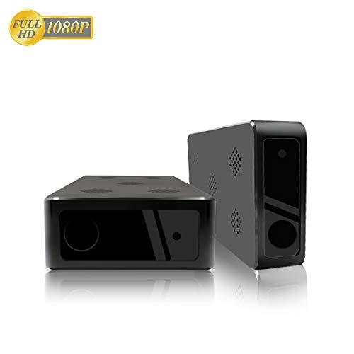 HaWoTEC Überwachungskamera versteckt in Blackbox Aufnahmegerät mit getarnte Kamera PIR Audio mit Akku 1080p Full HD mit Nachtsicht