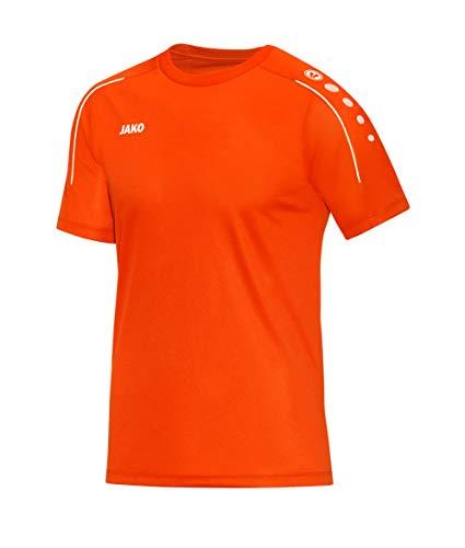 JAKO Herren T-Shirt Classico, Neonorange, 4XL