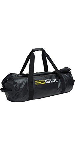 GUL 60L Dry Holdall Bagages ou Bagages en Noir Lu0124-A8 - Unisexe. Imperméable - bâche balistique 500D