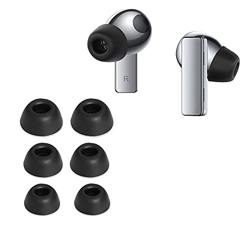 kwmobile 6X Polster kompatibel mit Huawei FreeBuds Pro - 3 Größen - Silikon Ohrstöpsel In-Ear Kopfhörer
