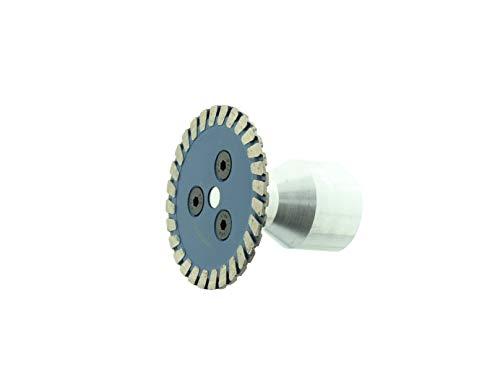 Diamant-Trennscheibe Fliesentrennscheibe Mini Turbo Fliese 50mm M-14 Aufnahme BTEC