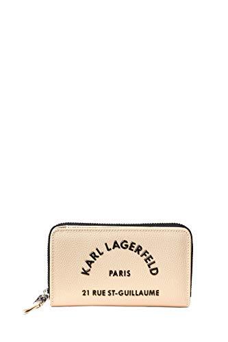 Karl Lagerfeld 201W3227 Portefeuille moyen Rue St Guillaume Zip Beige