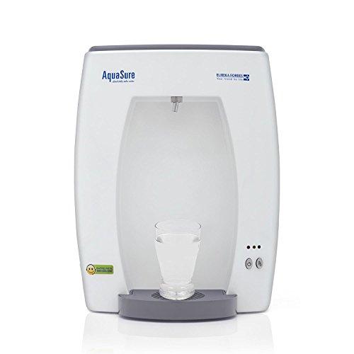 AquaSure from Aquaguard Smart UV Water Purifier, Suitable for Municiple Water (Suitable for Municipal Water, TDS Below 200ppm) (White)