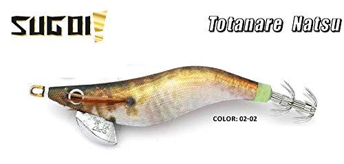 Sugoi Natsu Misura 2.5 Colore 02-02 Totanara per la Pesca delle seppie e dei Calamari