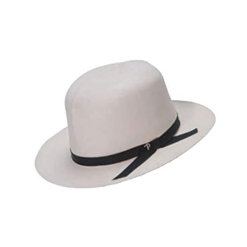 Chigi Herren Panama Sommer Panizza Original Kolonial Weiß Faltbarer Strohhut Hohe Qualität Hut Damen Größe 58