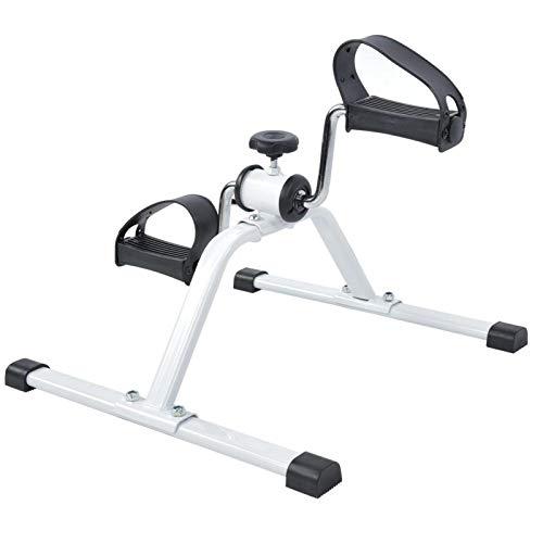Qqmora Mini Entrenador de piernas en Bicicleta, fácil de Usar, para Fisioterapia de rehabilitación