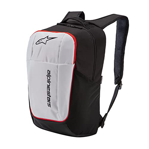 Alpinestars Unisex DEFCON v2 Backpack Rucksack, Schwarz/Weiß/Rot, 35 x 50 x 54 cm