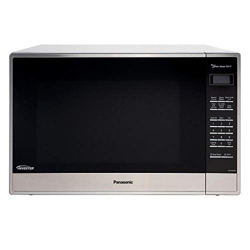 Panasonic NN-SN975S Genius Sensor Microwave - With Inverter Technology - Stainless Steel – 2.2 Cu. Ft. 1250W (Silver) (Renewed)