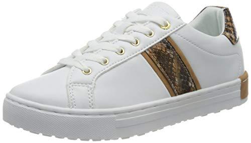 ESPRIT Damen 080EK1W325 Sneaker, 101/WHITE 2, 39 EU