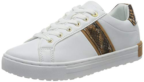 Esprit 080EK1W325, Basket Femme, 101 White 2, 38 EU