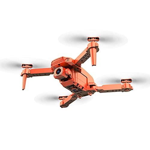 sdfsa Mini Drone telecomandato Drone quadricottero Pieghevole Luci di Navigazione a LED ad Alta Definizione per Bambini e Adulti, batterie per Telecomando