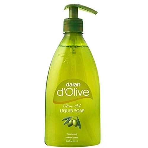 Dalan d'Olive vloeibare zeep (met pomp) - 12 stuks (12 x 400 ml)