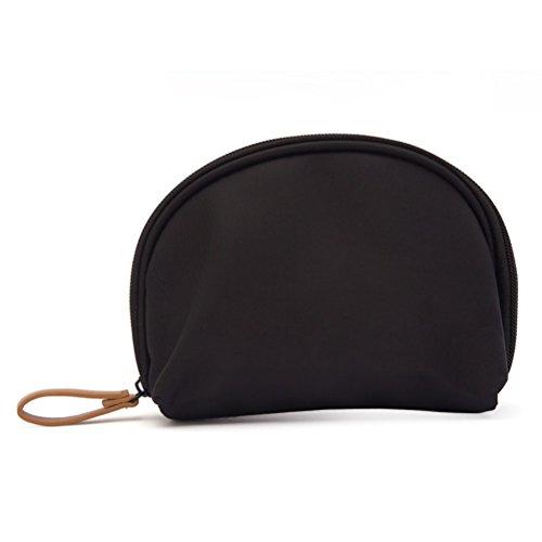 UEETEK Handliche Make-up Tasche Kosmetiktasche (schwarz)