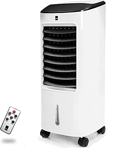 KEPLIN Air Cooler 6L WHITE – Portable Conditioner Unit – Advanced Air Purifier Cooling Tower with 3 Fan Speeds, 3 Operational Modes, Easy Use Remote Control, Built-in Timer & Oscillation