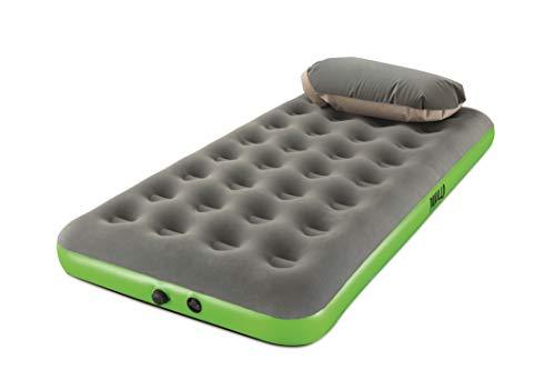 Pavillo Roll & Relax Einzelbett, Luftbett mit Kissen-/Kompressionspumpe, 188x99x22 cm
